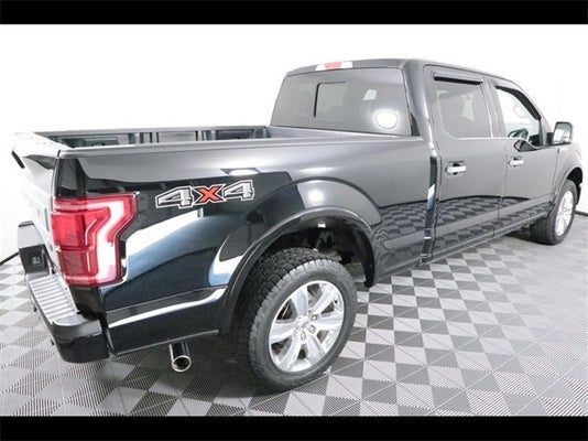 Ford F-150 Platinum For Sale >> 2016 Ford F 150 Platinum
